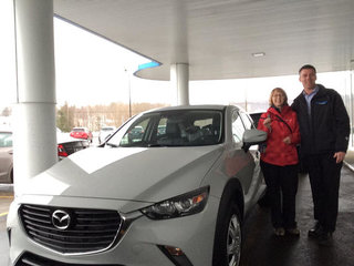Heureuse de Prestige Mazda à Shawinigan