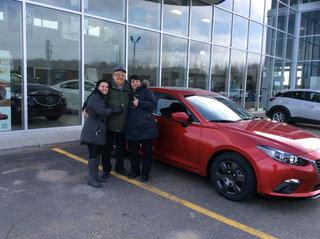 Super contente!!!! de Prestige Mazda à Shawinigan