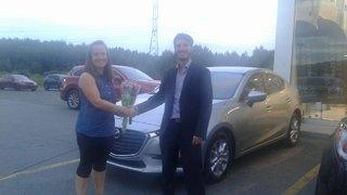 Ma première voiture neuve! de Prestige Mazda à Shawinigan
