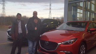 Ma première Mazda de Groupe Vincent à Shawinigan et Trois-Rivières