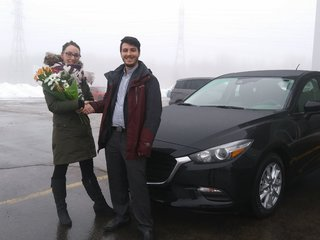 Une cliente satisfaite! de Prestige Mazda à Shawinigan