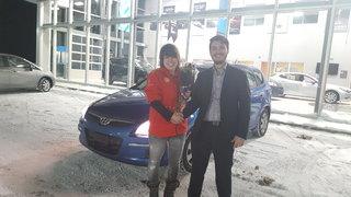 Ma belle nouvelle voiture de Prestige Mazda à Shawinigan
