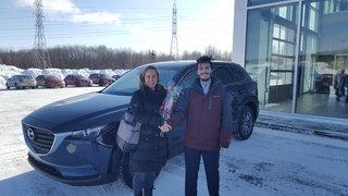 Une première Mazda pour la famille de Groupe Vincent à Shawinigan et Trois-Rivières