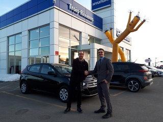 Ma première voiture neuve de Hyundai Trois-Rivières à Trois-Rivières