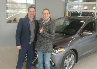 Contente de ma nouvelle Hyundai! de Hyundai Trois-Rivières à Trois-Rivières