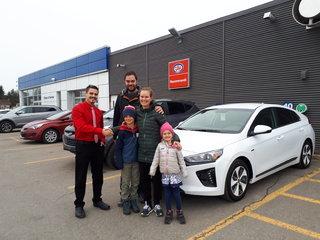 Une voiture écologique pour une famille écologique de Groupe Vincent à Shawinigan et Trois-Rivières