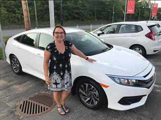 La nouvelle Honda Civic Se 2018 de Groupe Vincent à Shawinigan et Trois-Rivières