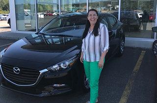 Félicitations Mme Crevier! de Prestige Mazda à Shawinigan