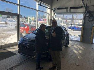 Première Hyundai et je suis très heureuse de Groupe Vincent à Shawinigan et Trois-Rivières
