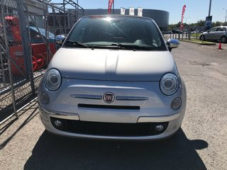 2013 Fiat 500 C Lounge 1.4L Manuelle