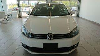 2014 Volkswagen Golf wagon TDI Wolfsburg Cuir Toit NAV *PROMO PNEUS HIVER*