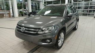 2016 Volkswagen Tiguan Highline 4Motion *Cuir Brun* *PROMO PNEUS HIVER*