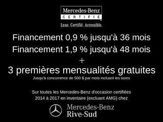 2017 Mercedes-Benz C-Class C300 4MATIC CERTIFIÉ