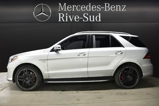 2015 Mercedes-Benz M-Class ML63 AMG 4MATIC, DISTRONIC PLUS, FREINS ROUGE