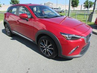2017 Mazda CX-3 GT AWD TOIT OUVRANT GPS CAMERA DE RECUL BLUETOOTH