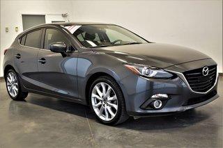 Mazda Mazda3 Sport ***GT CUIR GPS SIEGE CHAUFFANT CAMERA DE RECUL *** 2016