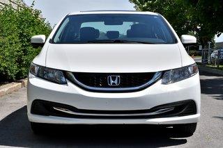 2015 Honda Civic Sedan *EX*TOIT*MAGS*CAMERA*ECRAN TACTILE*BLANC*