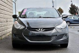 2012 Hyundai Elantra *GL*AUTOM*A/C*NOIR*1 PROPRIO*