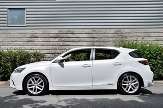 2014 Lexus CT 200h *BLANC*CUIR*TOIT*MAGS*HYBRID*TRES BAS KILO*