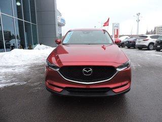 2018 Mazda CX-5 GT-TECH CUIR NAV TOIT VOLANT CHAUFFANT DEM.À DIST.