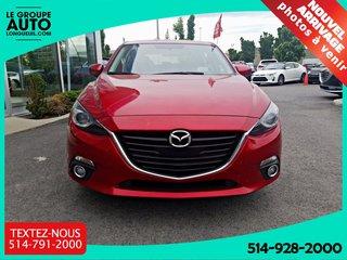 2015  Mazda3 GT**TOIT**NAV**BAS KM**