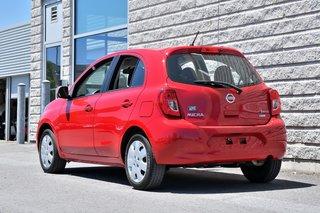 Nissan Micra *SV*AUTOM*A/C*ROUGE*72801KM* 2015