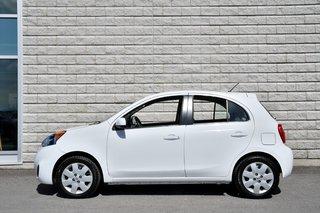 2017 Nissan Micra *SV*AUTOM*A/C*BLANC*BAS KILO*