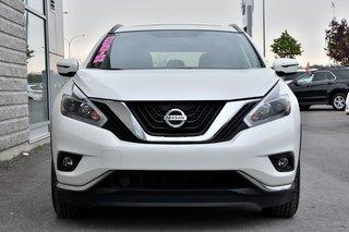 Nissan Murano *SV*TOIT*NAVI*CAMERA*BLANC*7901KM* 2018