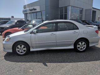 2007 Toyota Corolla SPORT AUTOMATIQUE A/C*DÉMARREUR