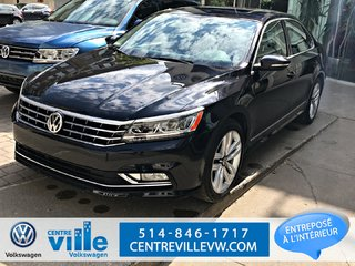 2017 Volkswagen Passat HIGHLINE (NAVI, TOIT, FENDER AUDIO +++)(CLEAN)