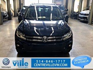 Volkswagen Tiguan SPECIAL EDITION 4MOTION+CAMERA+REMOTE START(CLEAN) 2015