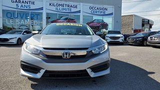 Honda Civic Sedan EX, A/C BIZONE, TOIT, SIEGES CHAUFFANTS, CAMERA 2016