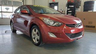 2013 Hyundai Elantra GLS, TOIT, SIEGES CHAUFFANTS, BLUETOOTH,REGULATEUR