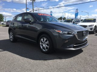 Mazda CX-3 GX, AWD, BLUETOOTH, CAMERA, A/C, RÉGULATEUR 2016