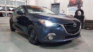 2014 Mazda Mazda3 GT-SKY, A/C BIZONE, NAVIGATEUR, TOIT, DEMARREUR,