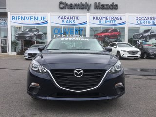 Mazda Mazda3 GX, BLUETOOTH, A/C, COMMANDE AUDIO AU VOLANT 2015