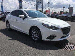 Mazda Mazda3 GS, TOIT, DÉMARREUR, SIEGES CHAUFFANTS, CAMERA,A/C 2015