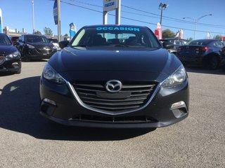 Mazda Mazda3 **RÉSERVÉ**,GS, SIEGES CHAUFFANTS, BLUETOOTH, MAGS 2015