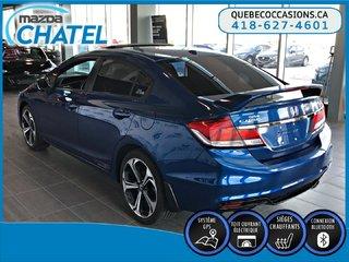 Honda Civic Sedan Si - TOIT OUVRANT - SIEGES CHAUFFANTS - CAMÉRA 2014