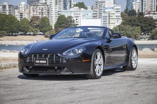 2012 Aston Martin V8 Vantage Roadster Sportshift