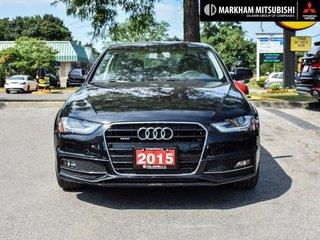 2015 Audi A4 2.0T Progressiv plus qtro 8sp Tip in Markham, Ontario - 2 - w320h240px