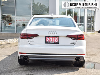 2018 Audi A4 2.0T Komfort quattro 7sp S tronic in Mississauga, Ontario - 4 - w320h240px