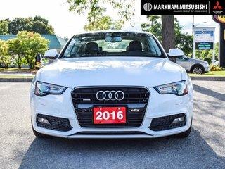 2016 Audi A5 2.0T Komfort quattro 8sp Tiptronic Cpe in Markham, Ontario - 2 - w320h240px