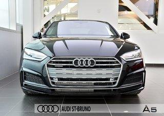 Audi A5 PROGRESSIV + LE MOINS CHÈRE + S-LINE 2018 à St-Bruno, Québec - 4 - w320h240px