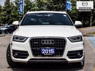 Audi Q3 2.0T Technik   Navi   Pano   Htd Sts   Lthr   Bose 2015