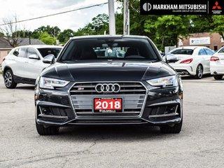 2018 Audi S4 3.0T Technik quattro 8sp Tiptronic (SOO) in Markham, Ontario - 2 - w320h240px