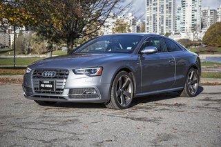 2015 Audi S5 3.0T Progressiv quattro 7sp S tronic Cpe