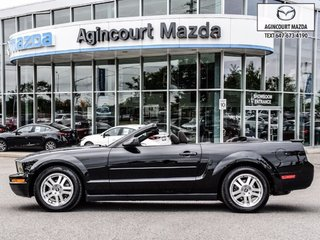 Ford Mustang V6 Convertible   Manual   Power Seat   A/C 2008