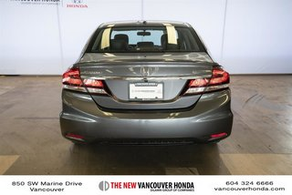 2014 Honda Civic Sedan Touring CVT in Vancouver, British Columbia - 6 - w320h240px