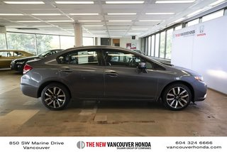 2014 Honda Civic Sedan Touring CVT in Vancouver, British Columbia - 4 - w320h240px